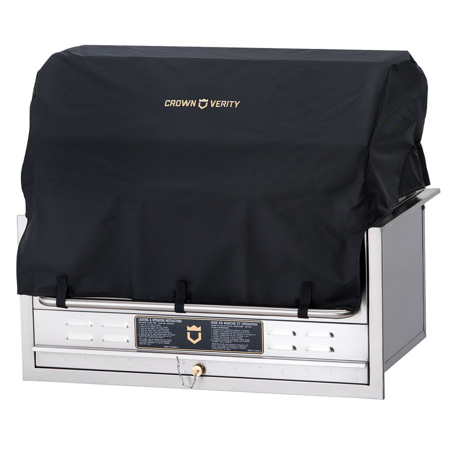 Crown Verity CV-BC-36-BI Grill Cover for BI-36 w/ Roll Dome - Vinyl