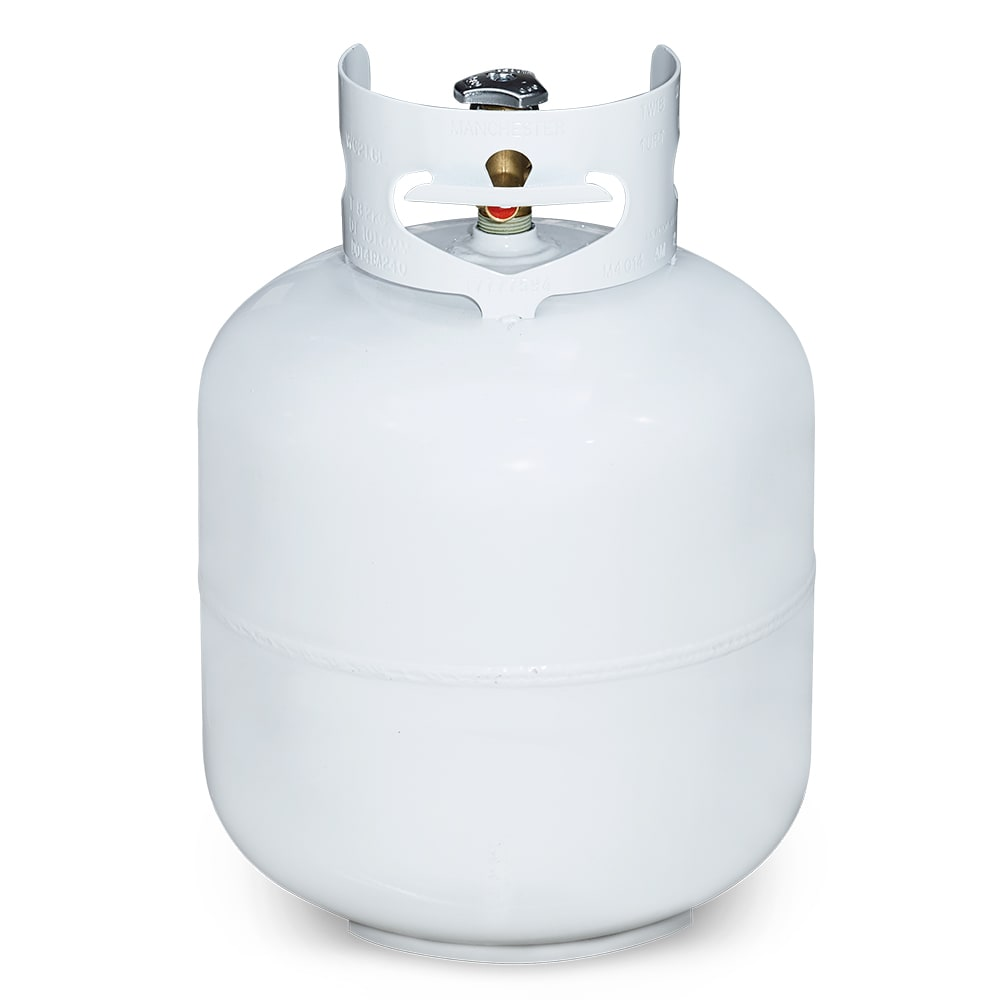 Crown Verity CYL-20 20 lb Propane Tank for Patio Heaters, Steamer/Griddles, TG-3, & MCB Grills