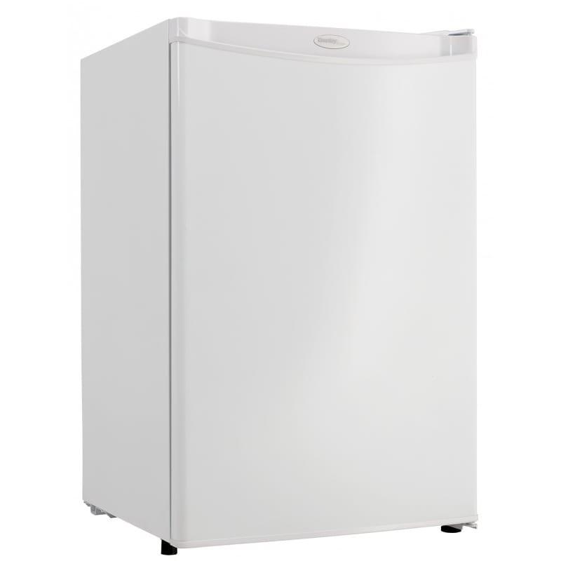 Danby DAR044A4WDD 4.4 cu ft Undercounter Refrigerator w/ Solid Door - White, 115v