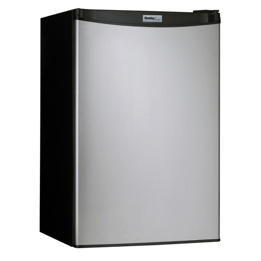 Danby Dcr044a2bsldd 4 4 Cu Ft Undercounter Refrigerator W Solid Door