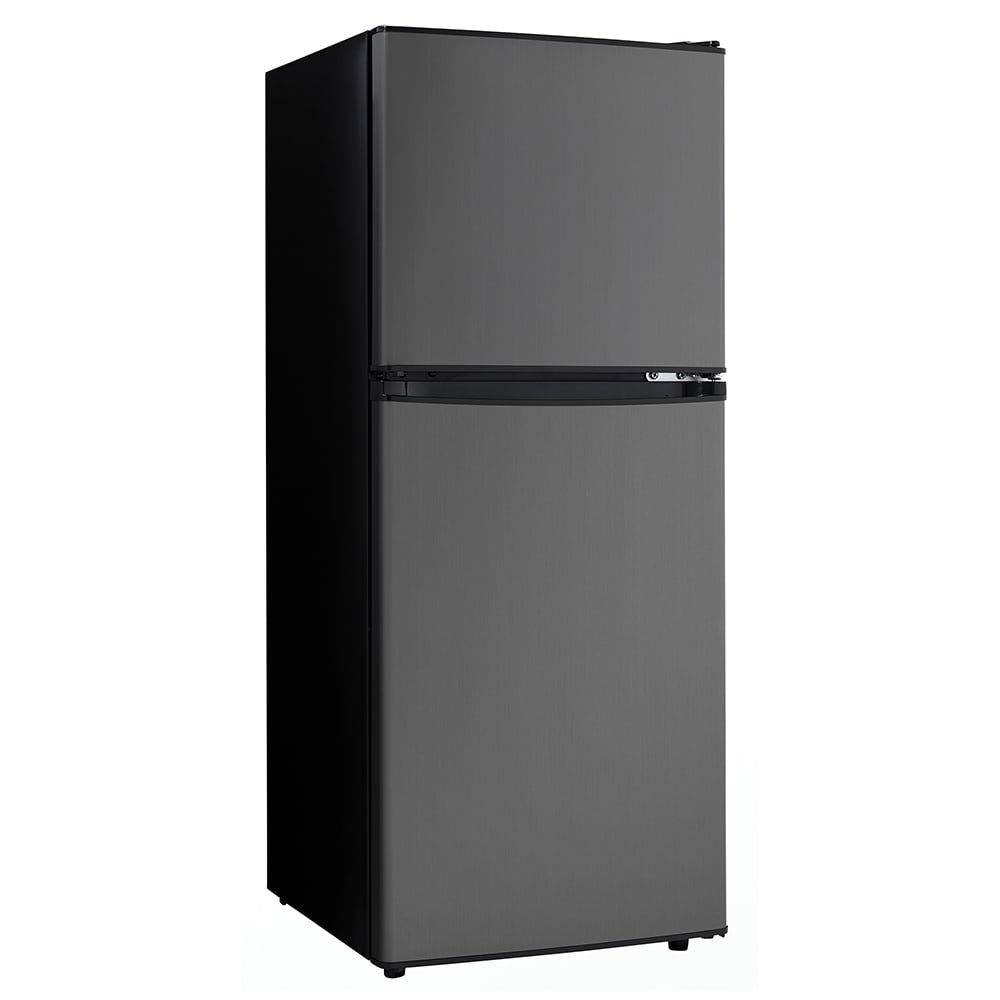Danby DCR047A1BBSL 6.2 cu ft Compact Refrigerator & Freezer w/ Solid on