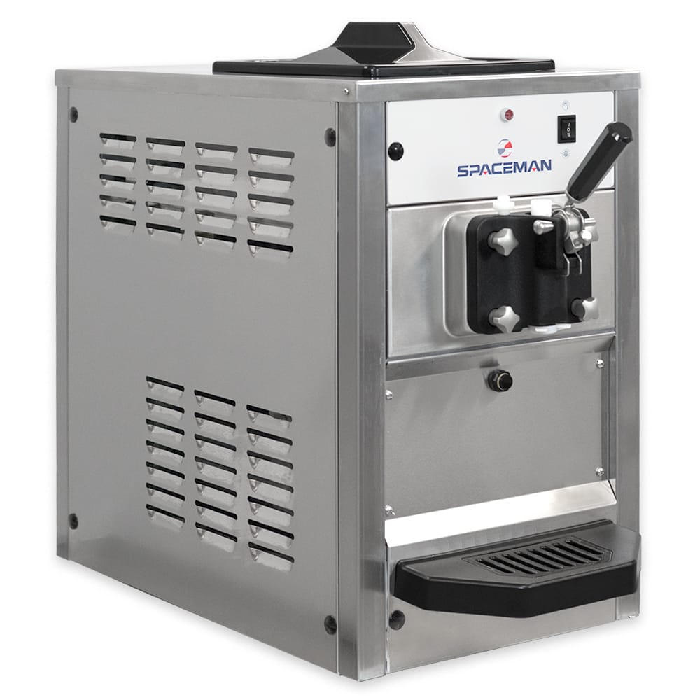 Spaceman 6210 Soft Serve Ice Cream Machine w/ (1) 8.5 qt Flavor Hopper, 115v