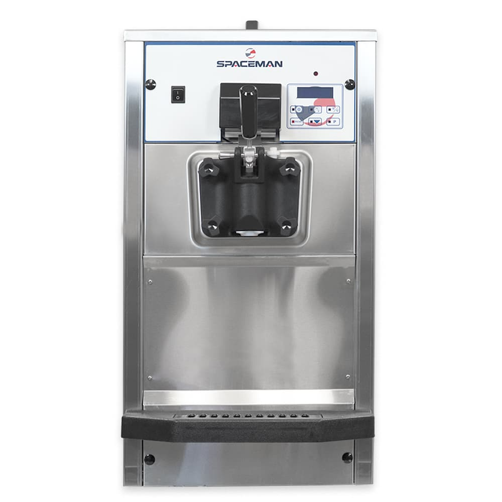 Spaceman 6236AH Soft Serve Ice Cream Machine w/ (1) 7.5 qt Flavor Hopper, 208-230v, 3 ph