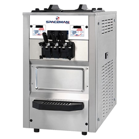 Spaceman 6245H Soft Serve Freezer w/ (2) 12.7-qt Hopper, Air Cooled, 208-230v/1ph