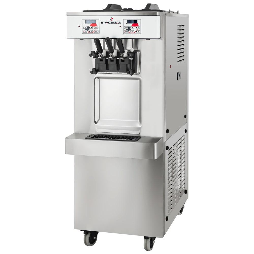 Spaceman 6250H Soft Serve Freezer w/ (2) 12.7-qt Hopper, Air Cooled, 208-230v/1ph
