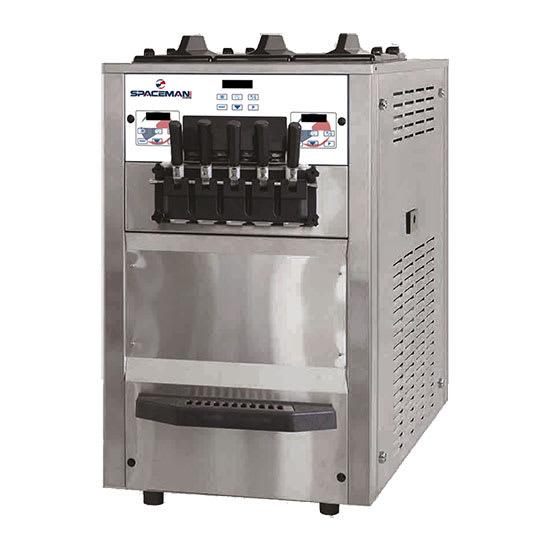 Spaceman 6265H Soft Serve Freezer w/ (3) 8.5-qt Hopper, Air Cooled, 208-230v/1ph