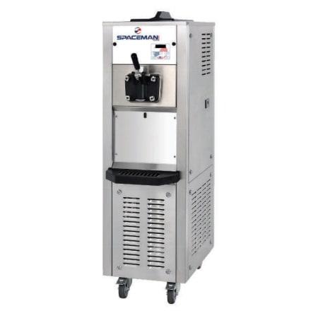 Spaceman 6338AH Soft Serve Freezer w/ (1) 15.9-qt Hopper, Air Cooled, 208-230v/1ph