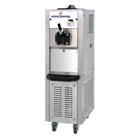 Spaceman 6338H Soft Serve Freezer w/ (1) 15.9-qt Hopper, Air Cooled, 208-230v/1ph