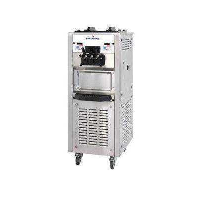Spaceman 6368AH Soft Serve Freezer w/ (2) 15.9-qt Hopper, Air Cooled, 208-230v/1ph