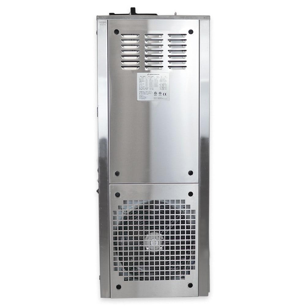 Spaceman 6378AHD-1-PHASE Soft Serve Ice Cream Machine w/ (2) 7.5 qt Flavor Hoppers, 208-230v, 1ph