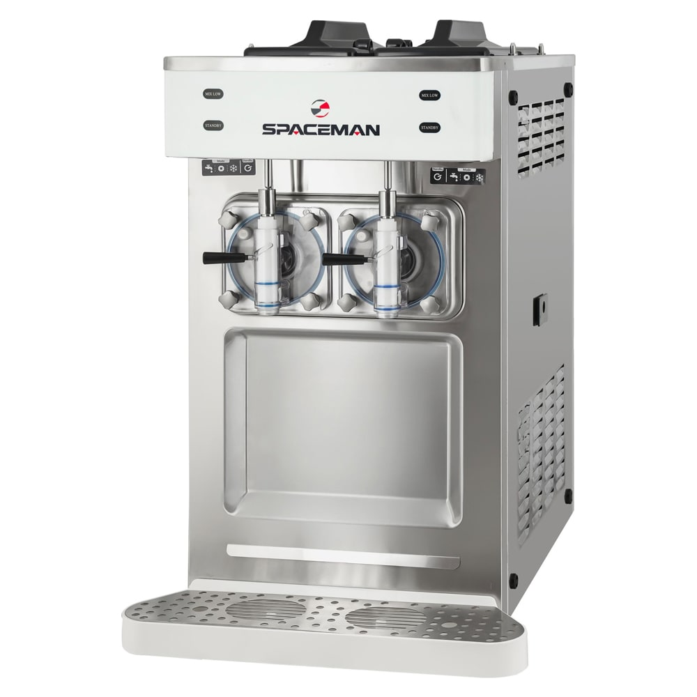 Spaceman 6455H Frozen Beverage Machine w/ (2) 8.5-qt Hopper, Air Cooled, 115-120v