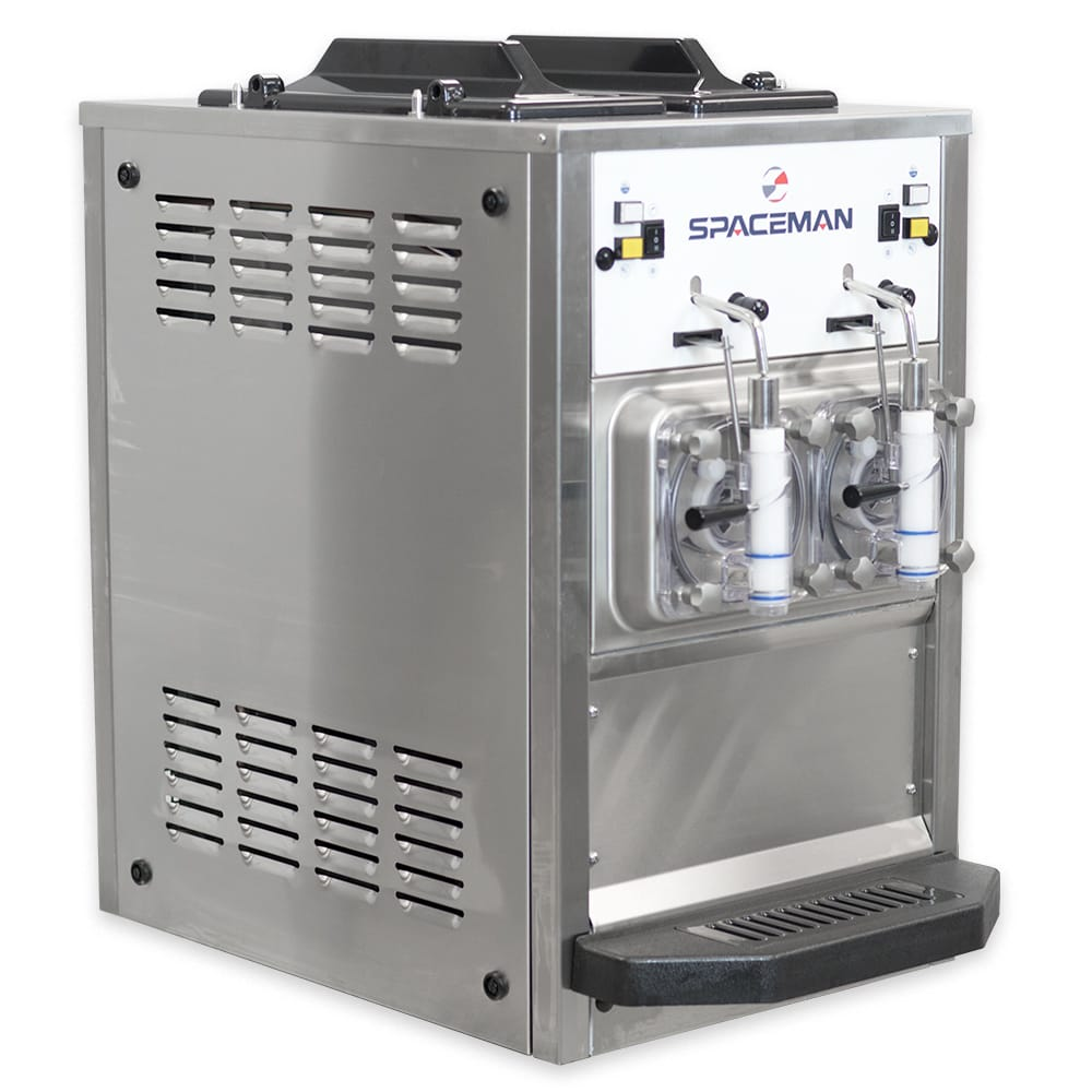 Spaceman 6455H Frozen Beverage Machine w/ (2) 8.5 qt Flavor Hoppers, 115v