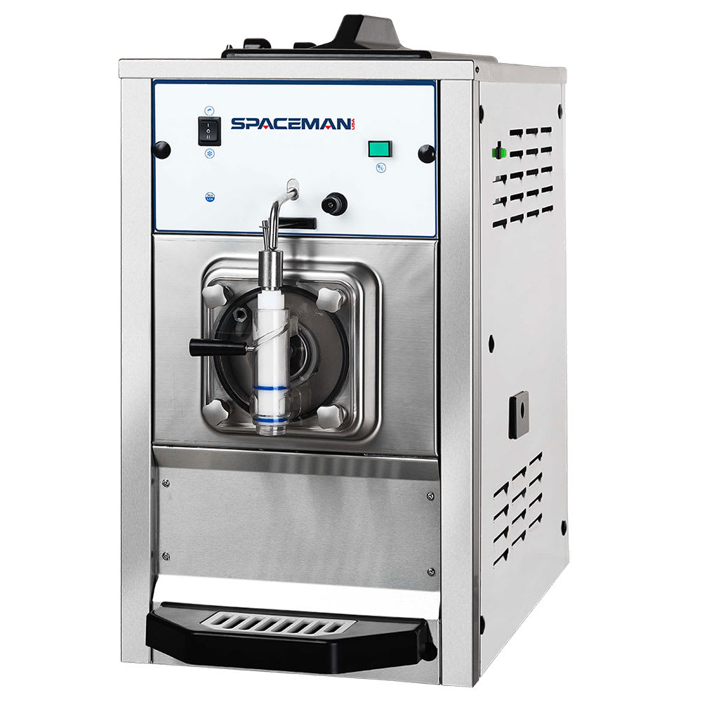 Spaceman 6650LB Frozen Beverage Machine w/ (1) 15.9-qt Hopper, Air Cooled, 110v