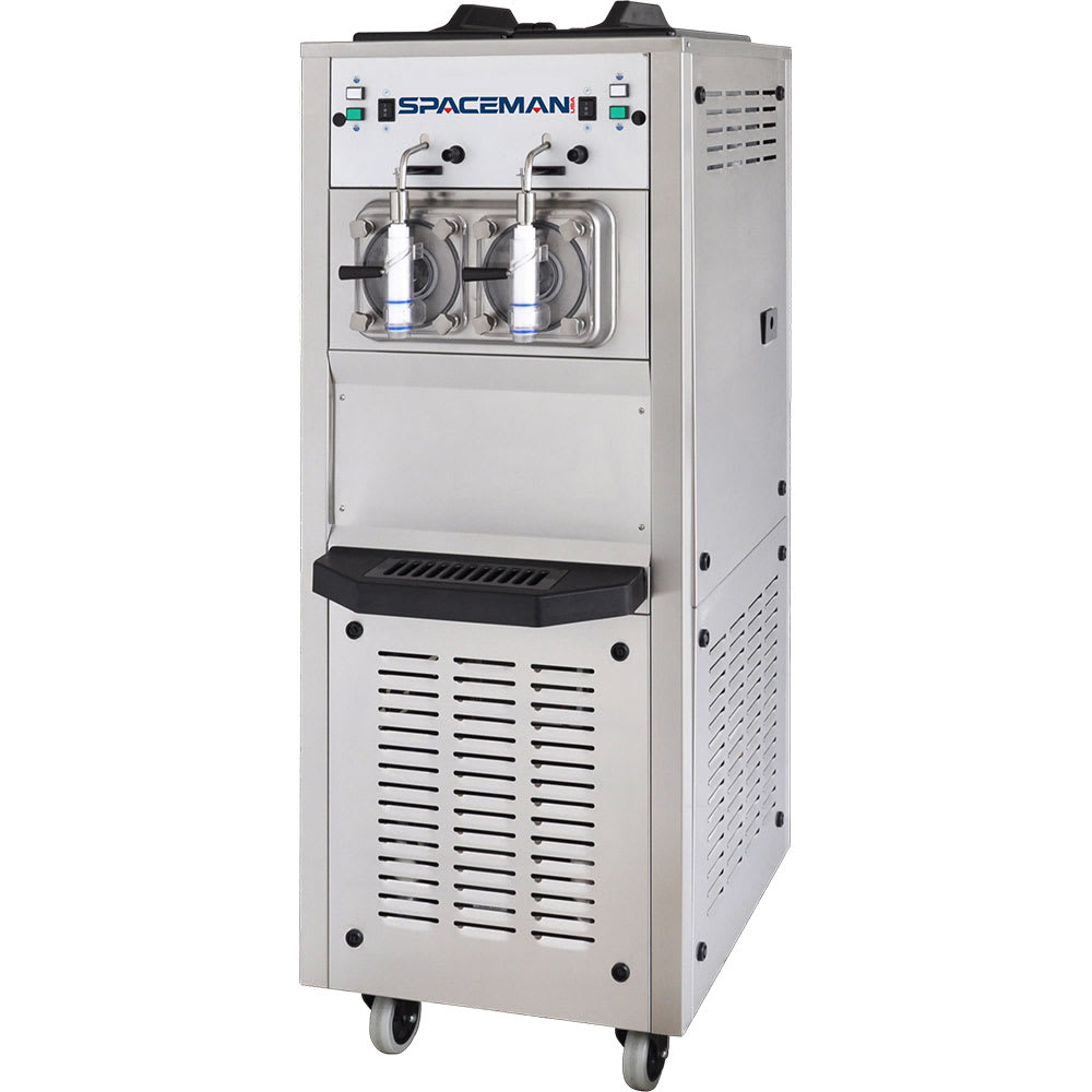 Spaceman 6795H Frozen Beverage Machine w/ (2) 15.85-qt Hopper, Air Cooled, 208-230v/1ph