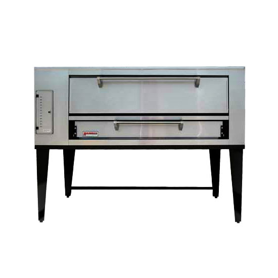 Marsal SD-660 Single Pizza Deck Oven, NG