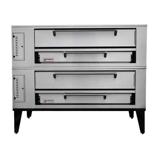Marsal SD-660STACKED Double Pizza Deck Oven, LP