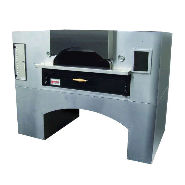 Marsal WF-60 Single Pizza Deck Oven, NG