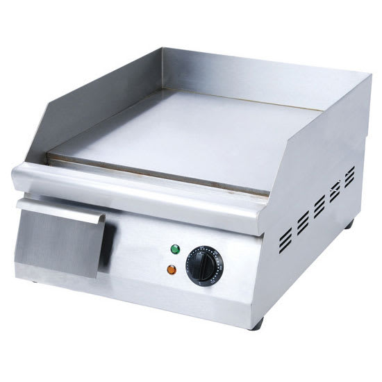 "eQuipped EG16N 16"" Electric Griddle - Manual, 3/8"" Steel Plate, 120v"