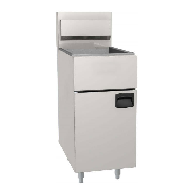 eQuipped FF400 Gas Fryer - (1) 50-lb Vat, Floor Model, LP