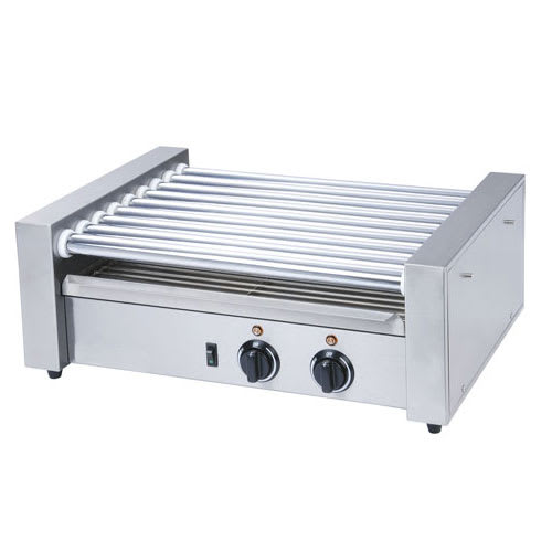 eQuipped RG1824 24 Hot Dog Roller Grill - Flat Top, 120v