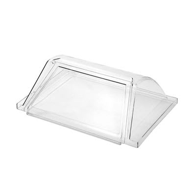 eQuipped RG1824SG Sneeze Guard for RG1824 Hot Dog Roller Grill - Acrylic, Clear