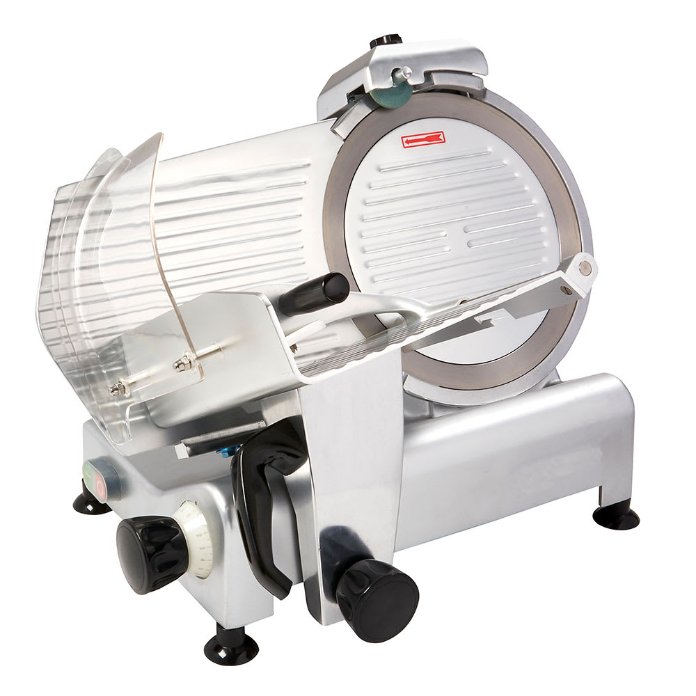 "eQuipped SL512 Manual Meat Slicer w/ 12"" Blade - Aluminum, 110v"
