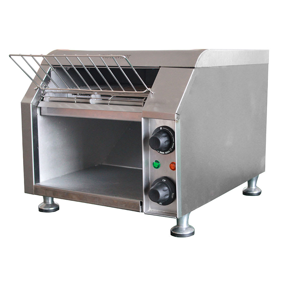"eQuipped T140 Conveyor Toaster - 300-Slices/hr w/ 10""W Belt, 120v"