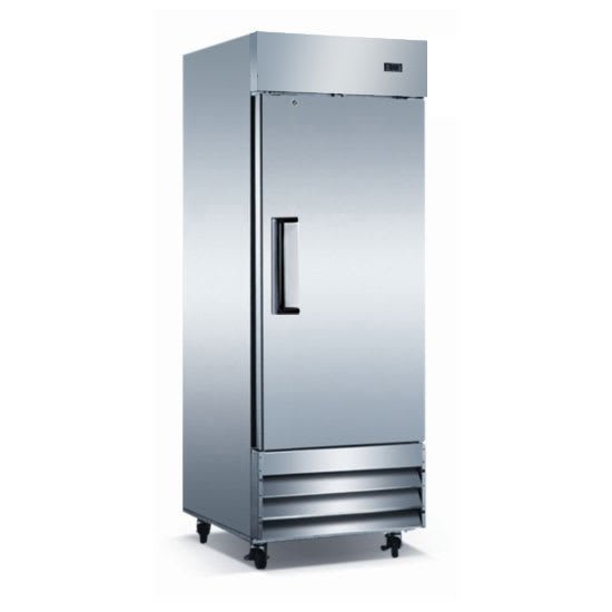 "eQuipped VF23 29"" Single Section Reach-In Freezer, (1) Solid Door, 115v"