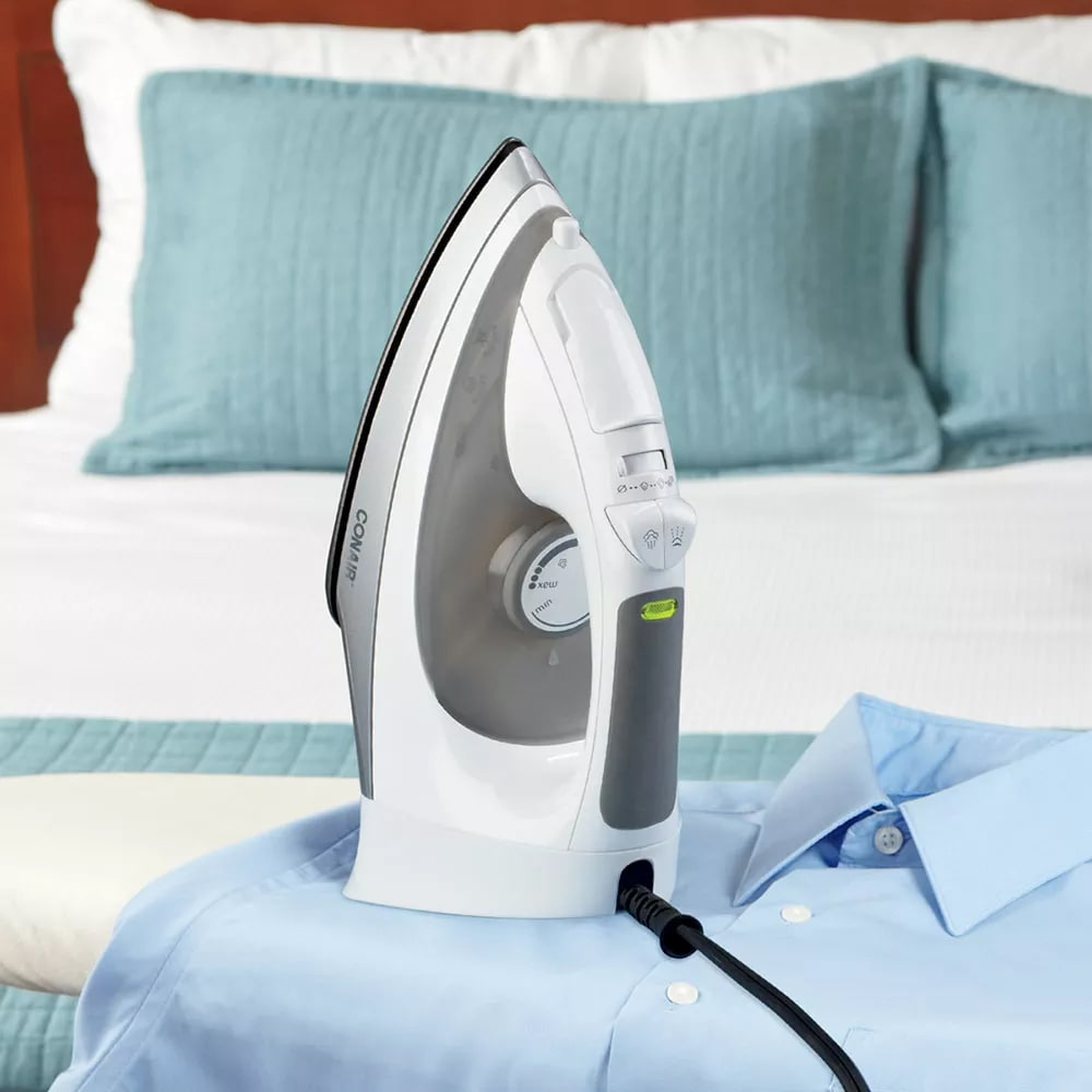 Conair Hospitality WCI316 Steam & Dry Iron w/ Adjustable Temperature Control - White, 120v