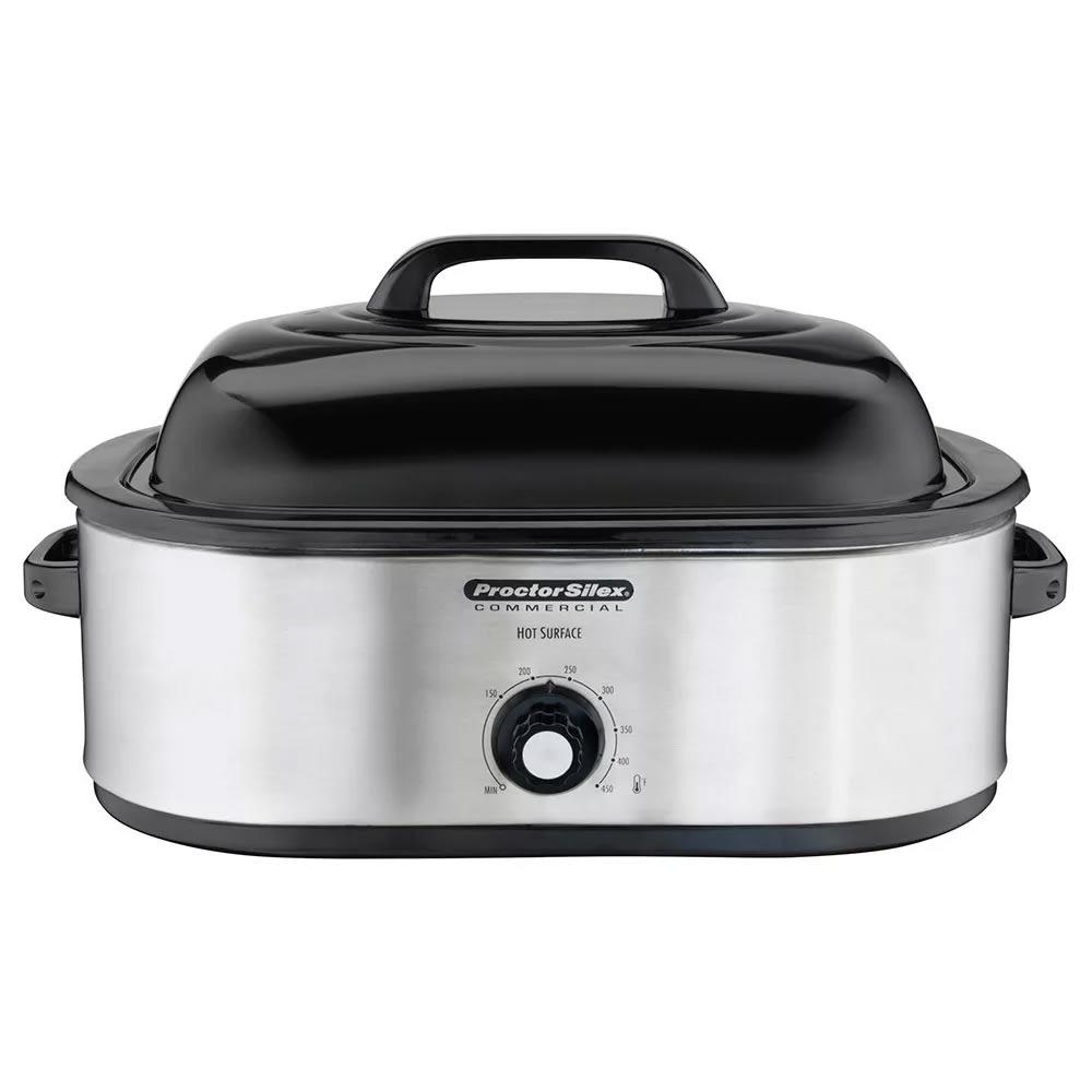 Proctor Silex 32920 18 qt Roaster Oven w/ Pan & Rack - Stainless, 120v