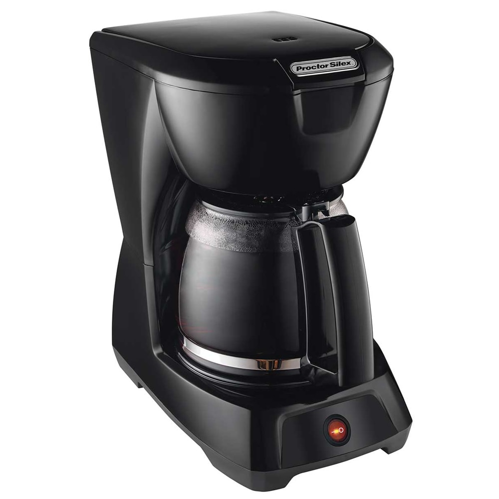 Proctor Silex 43602 12 Cup Coffee Maker w/ Glass Carafe - Black, 120v