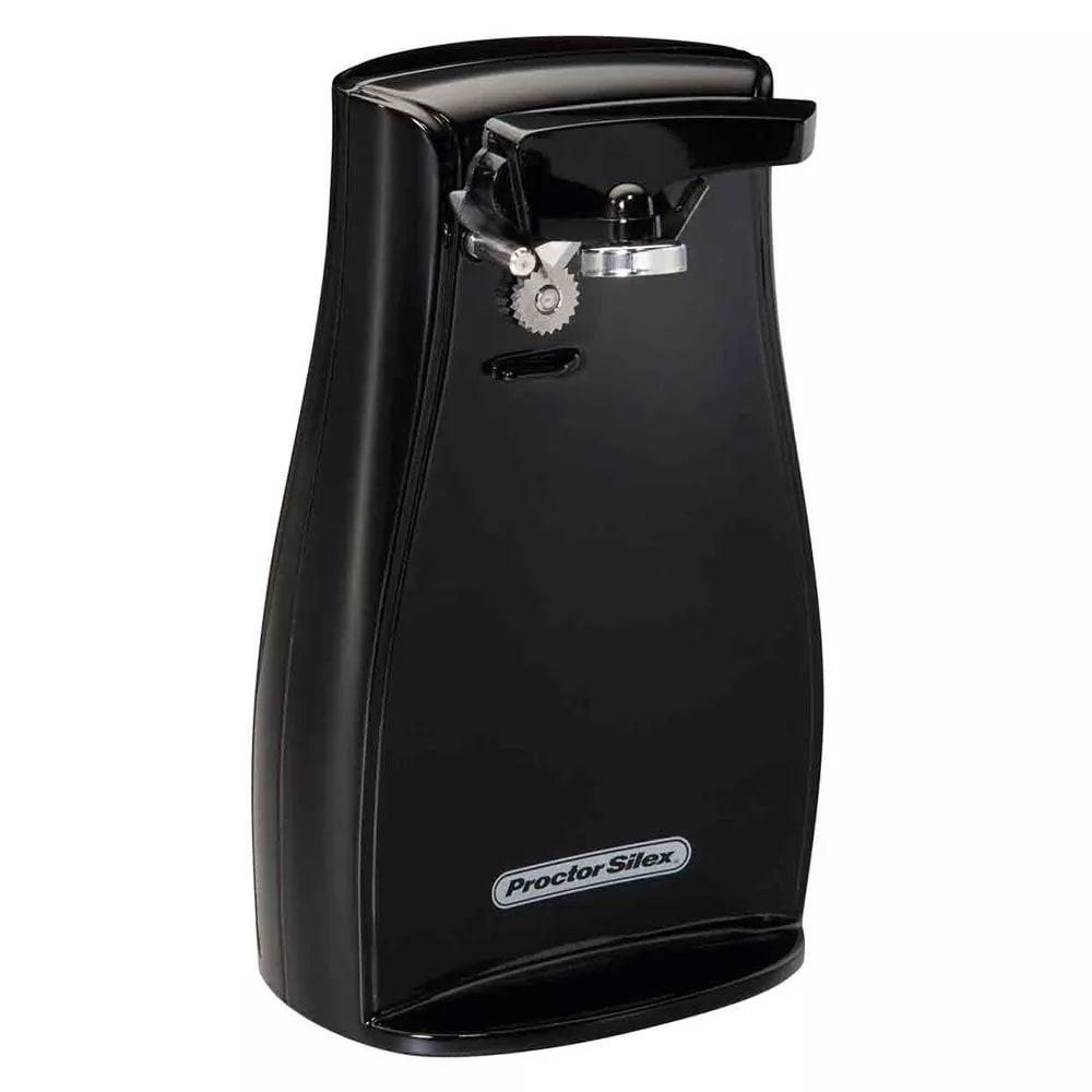 Proctor Silex 75217F Can Opener w/ Auto Shutoff - Black, 120v