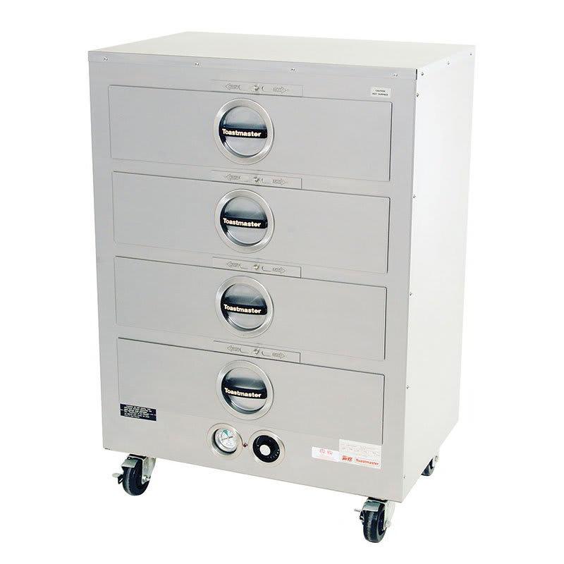 Toastmaster 3D8XDT09 120 4-Drawer Insulated Food Warmer, 7-Dz Rolls Ea, 120 V