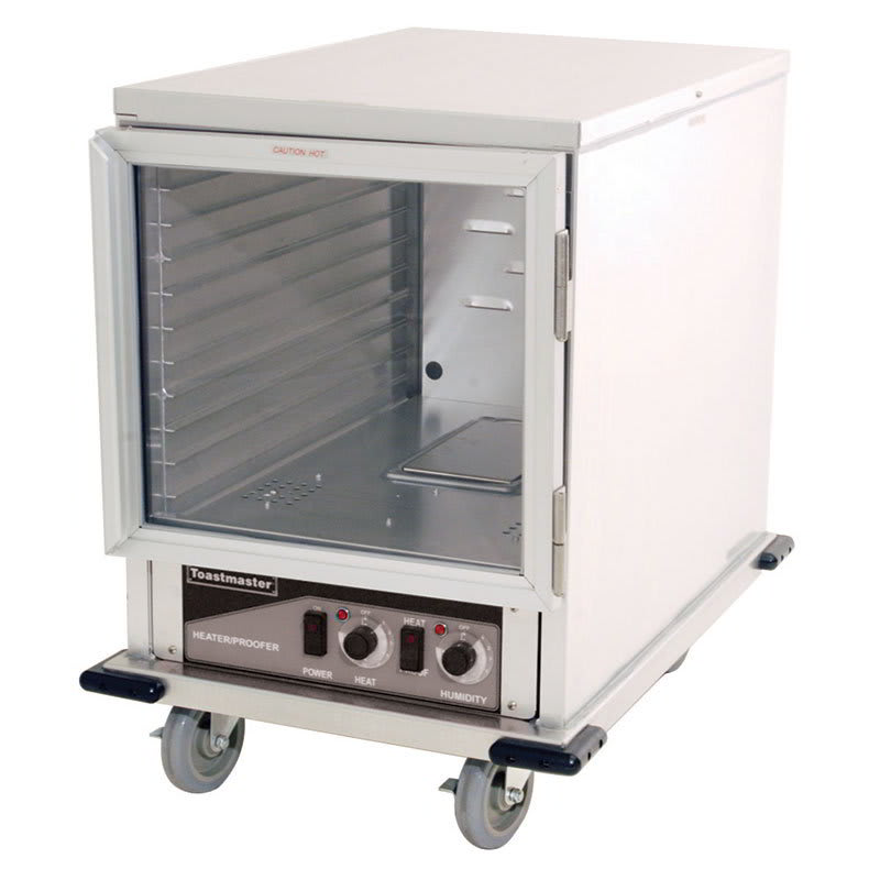 Toastmaster E9451-HP12CDN 1/2-Height Mobile Heated Cabinet w/ (11) Pan Capacity, 120v