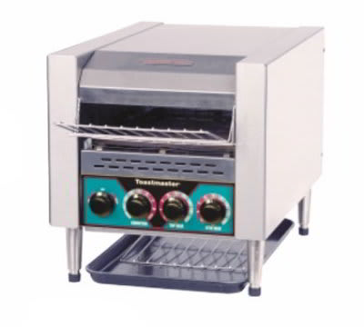 Toastmaster TC21D 2081 Countertop Horizontal Conveyor Toaster w/ Angled Rack, 208/1 V