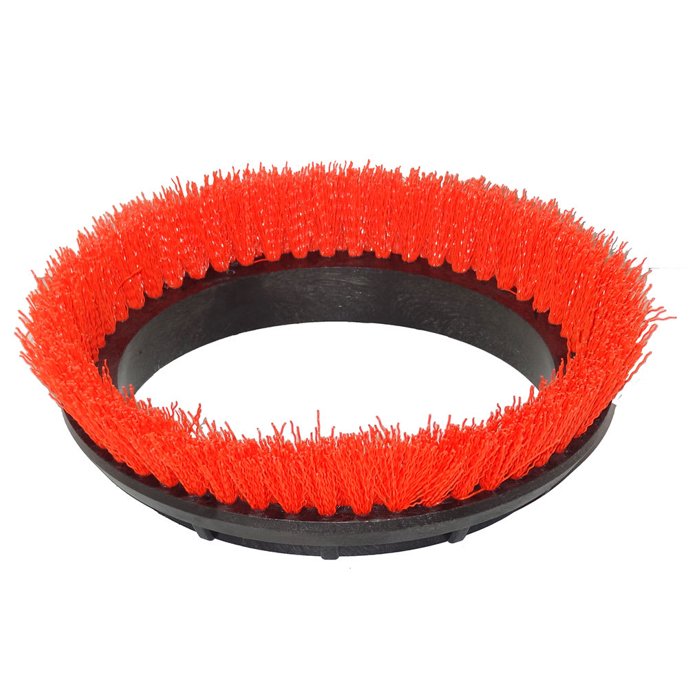 "Bissell 237.047 12"" Scrub Brush for Orbital Floor Machine, Orange"
