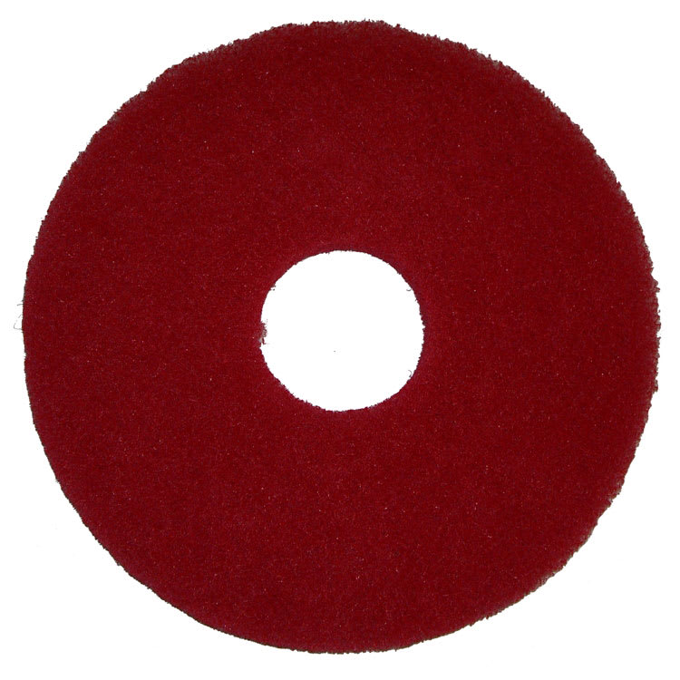 "Bissell 437.055 12"" Polish Pad for BGEM9000, Red"