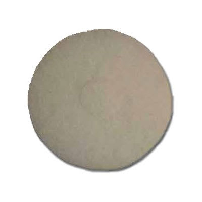 """Bissell 82005 17"""" Polish Pad for Lo-Boy Floor Machine, White"""