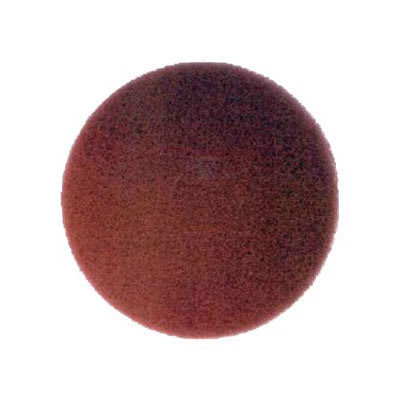 """Bissell 82007 17"""" Polish Pad for Lo-Boy Floor Machine, Red"""