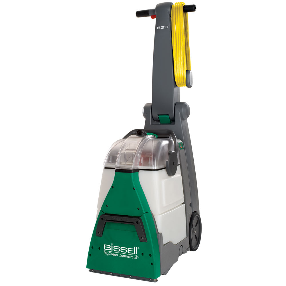 "Bissell BG10 10.5"" BigGreen Deep Cleaning Machine w/ Adjustable Handle, Green/Gray"