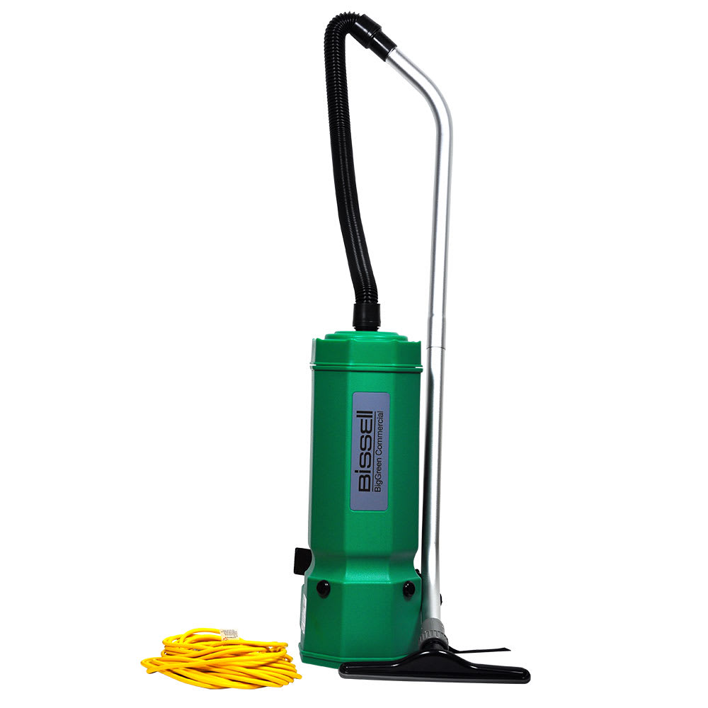 Bissell BG1001 10-qt Advance Filtration Backpack Vacuum w/ 8-Piece Tool Kit - 1175 Watts, Green