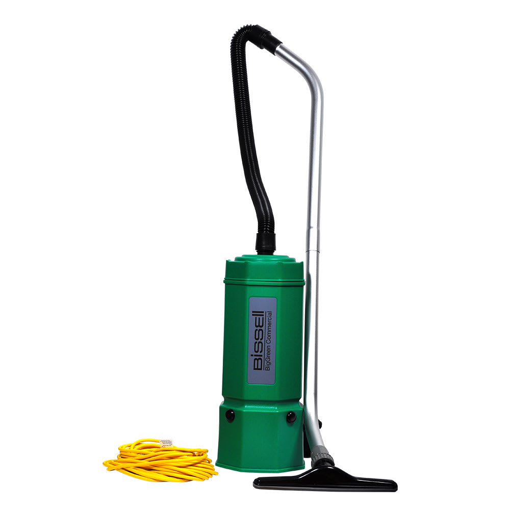 Bissell BG1006 6 qt Advance Filtration Backpack Vacuum w/ 8 Piece Tool Kit - 1175 Watts, Green