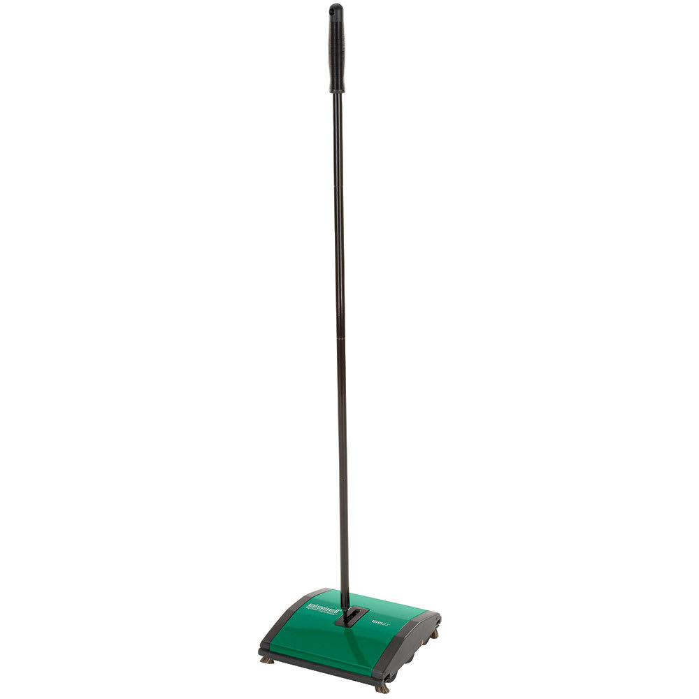 "Bissell BG23 9.5"" Sweeper w/ (2) Nylon Brushes, Green"