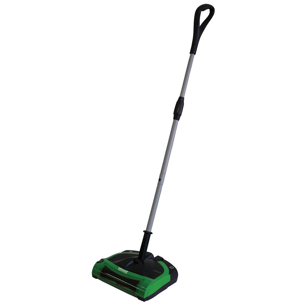 "Bissell BG9100NM 11.5"" Battery-Powered Floor Sweeper w/ Single Brush, Green"