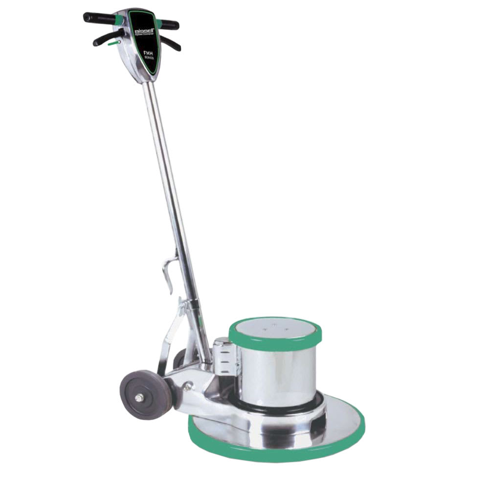 "Bissell BGH-21E FMH Heavy Duty Floor Machine w/ 21"" Pad, Aluminum"