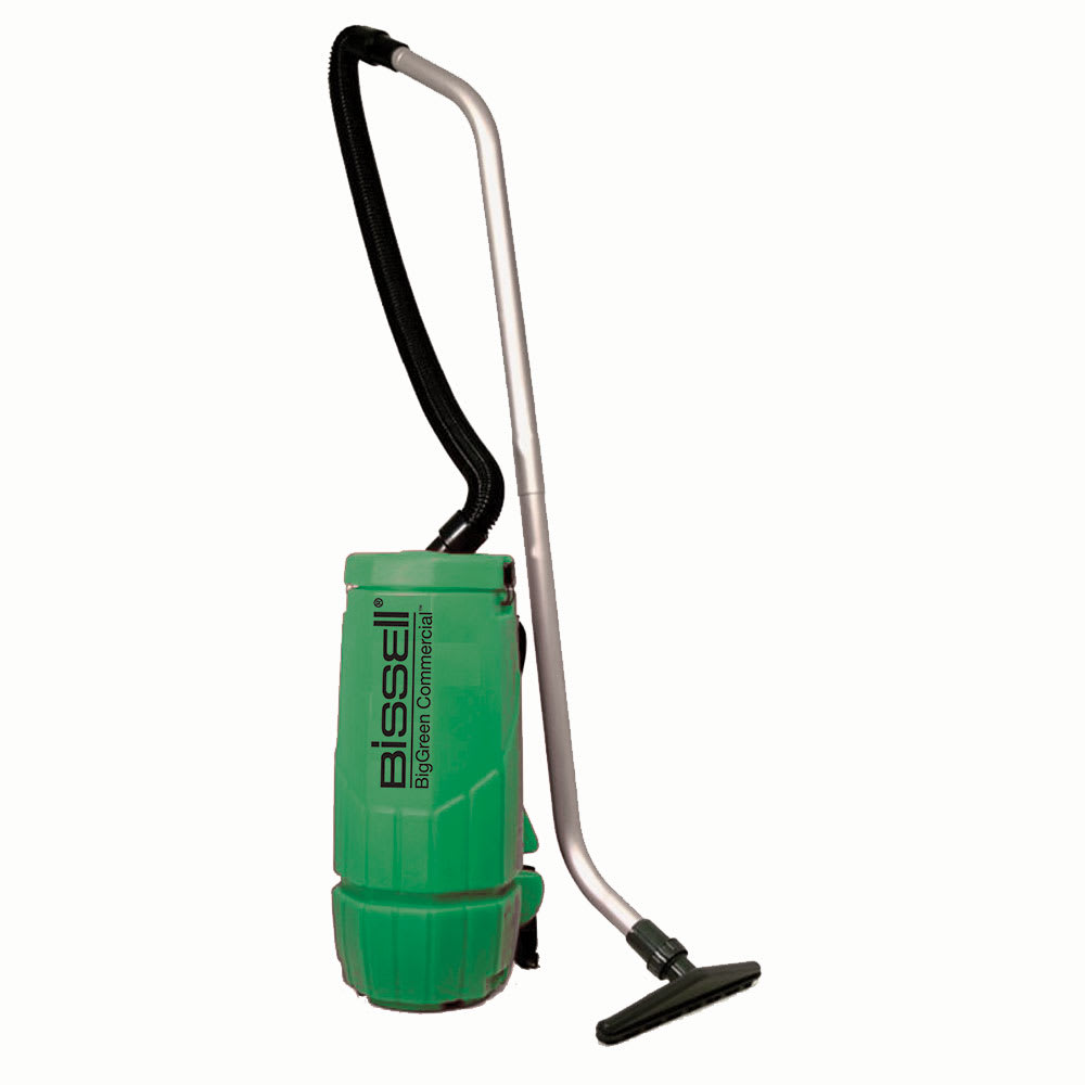 Bissell BGPRO10A 10-qt Backpack Vacuum w/ Whisper Motor - 1200 Watts, Green