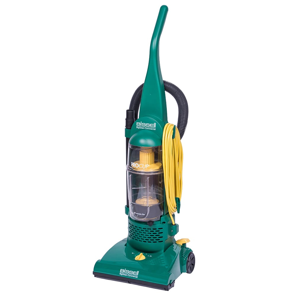 """Bissell BGU1937T 13.5""""W Bagless Commercial Vacuum w/ Washable Dust Cup & Tools Onboard"""