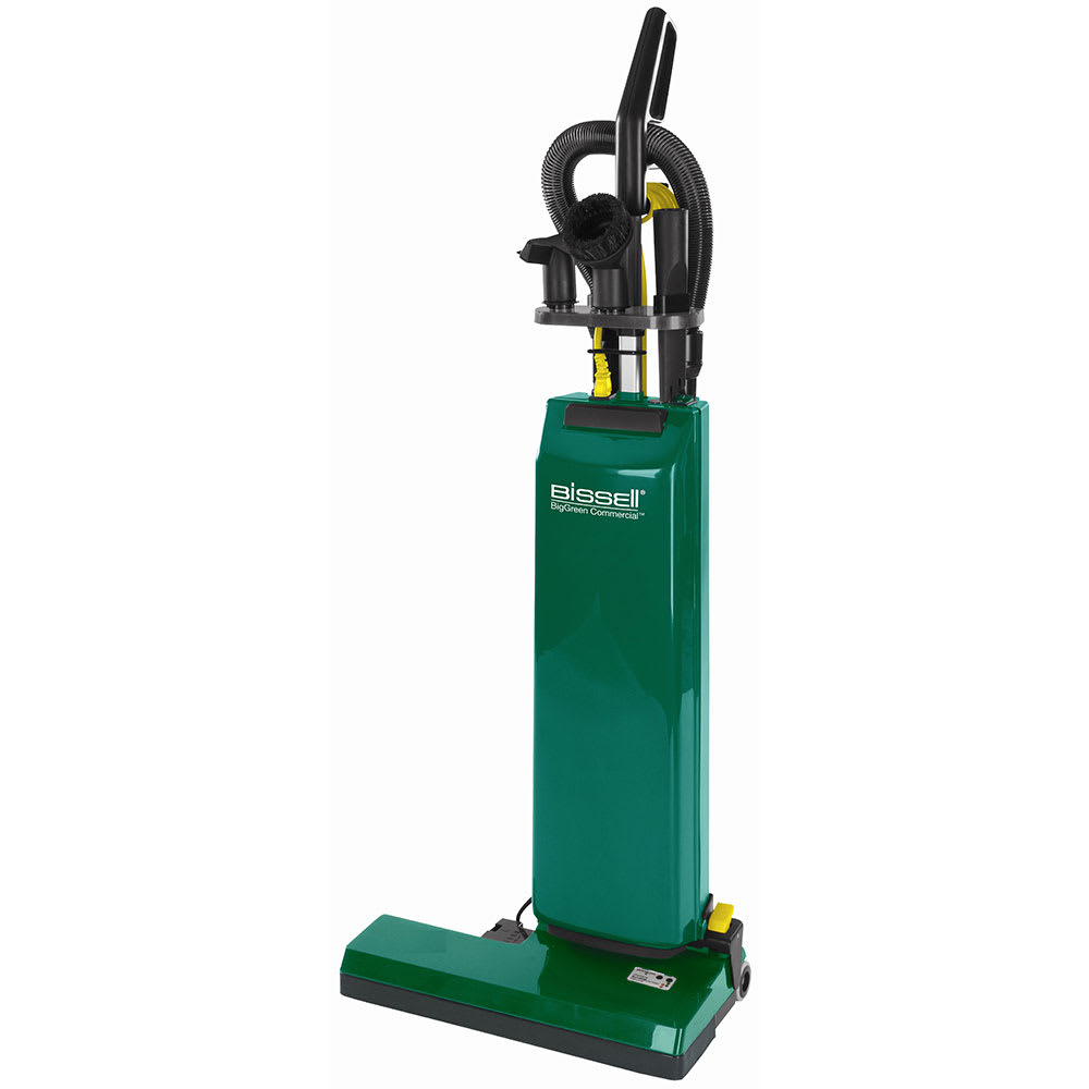"Bissell BGUPRO18T 18"" Heavy Duty Upright Vacuum w/ Attachments - 1000 Watts, Green"