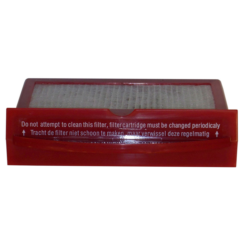 Bissell HEPACAS-09 Replacement Hepa Exhaust Filter for BGCOMP9H, Red