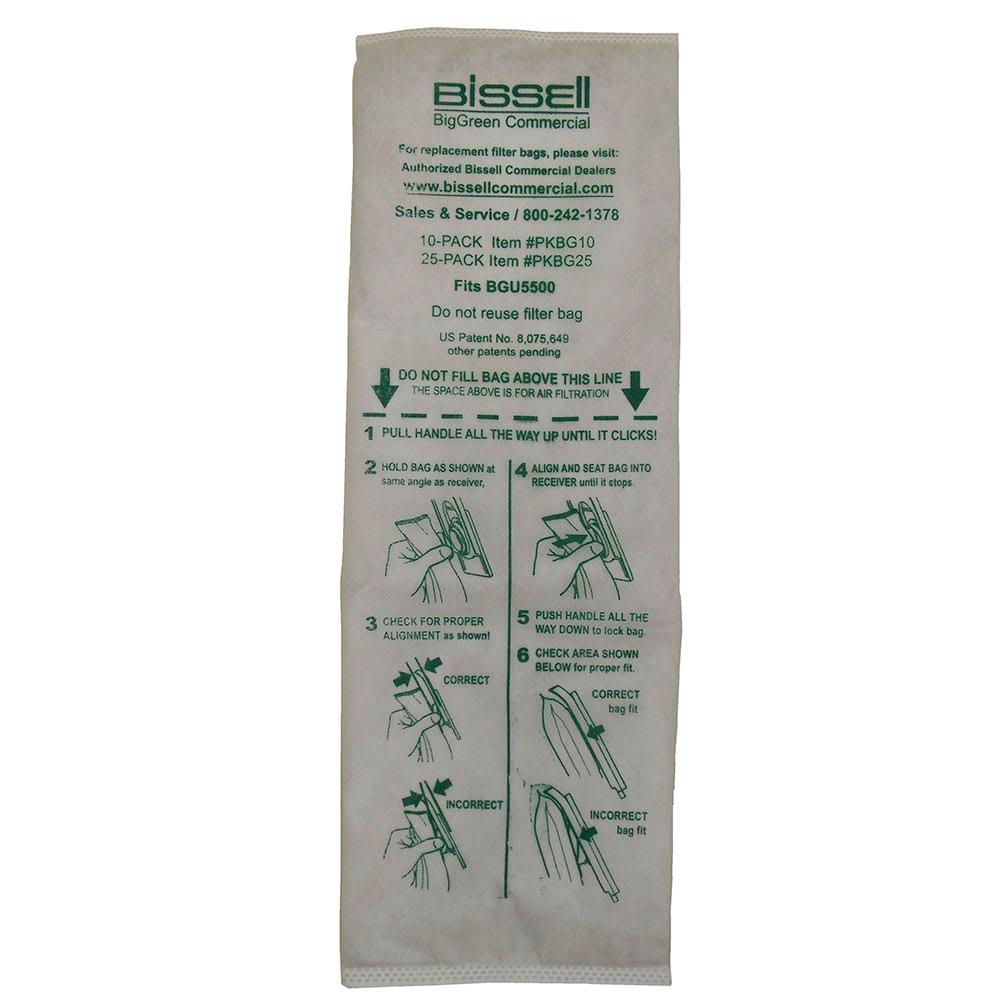 Bissell PKBG25 Vacuum Cleaner Bags for BGU5500